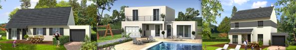3 maisons modernes